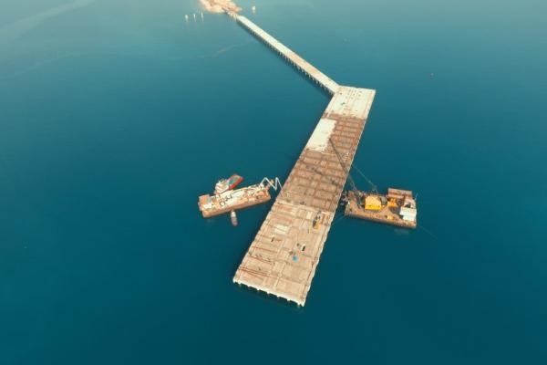 Sönmez Çimento Liman İnşaatı