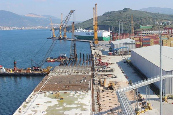 Gemlik Gübre / Yılport Limanı 2. Faz İnşaatı