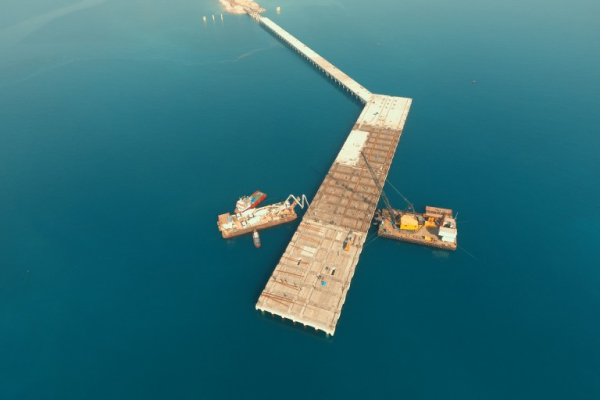SÖNMEZ CEMENT PORT CONSTRUCTION