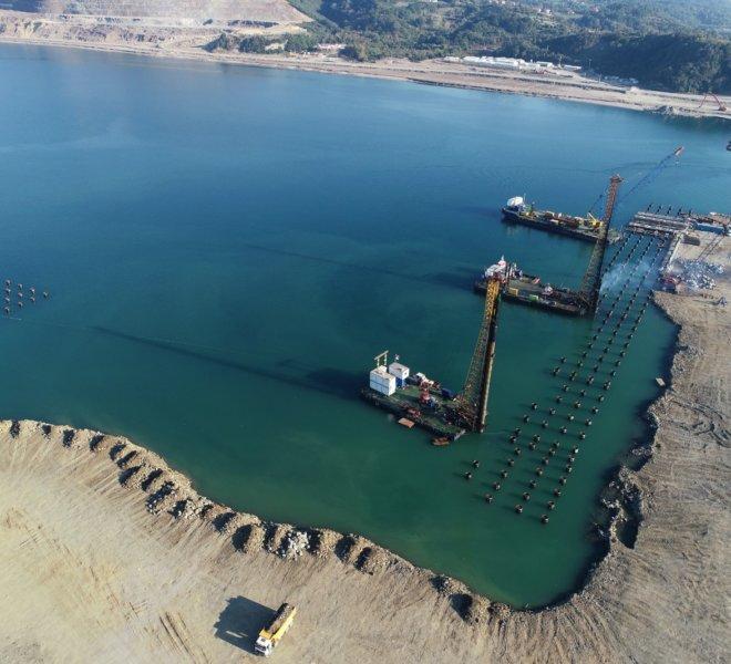 Filyos Liman İnşaatı - Zonguldak