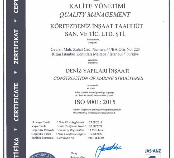 KALİTE YÖNETİMİ ISO 9001-1